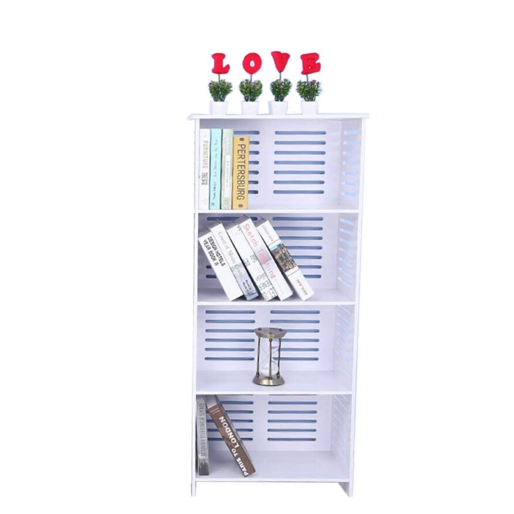 SED Office File Shelves,Home Storage Rack,Book Simple Multi-Layer Manager Modern Industrial Holders Display Stand Space Save,White,19.6812.2047.24In by SED