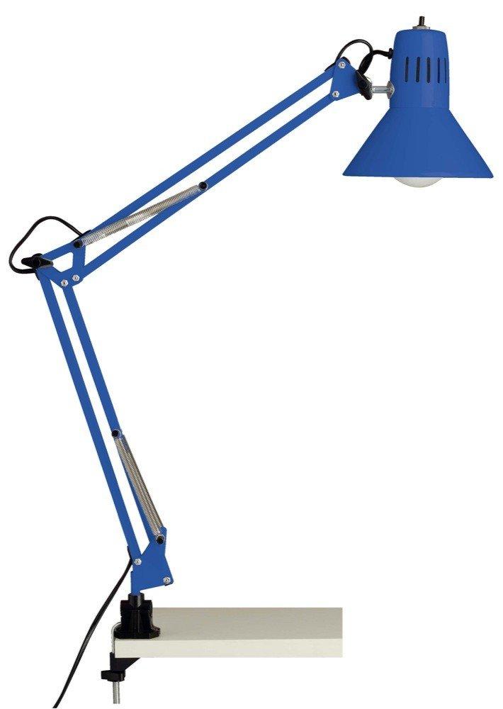 Brilliant Schreibtischlampe Schreibtischklemmleuchte Hobby blau