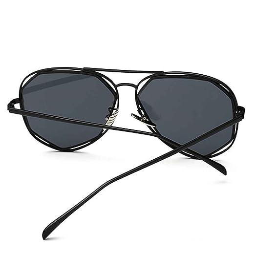 Meisijia donne Classic Designer Twin-Beams rivestimento a specchio Flat Panel Lens Sunglasses 9zAfIPn