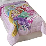Disney Palace Pets Twin Comforter Set Princesses Sweet Pet Friends Bedding Plus Bonus Wall Stickers
