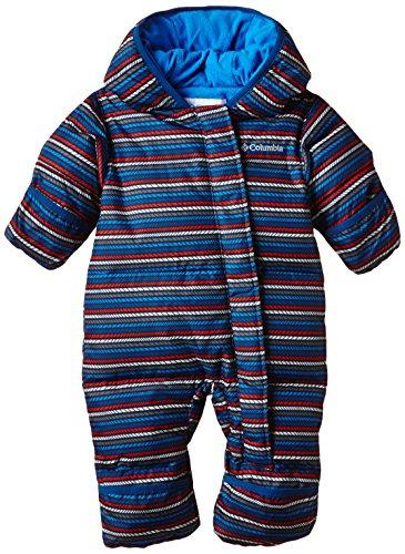 Columbia Unisex - Kinder Schneeanzug Snuggly Bunny, marine blue stripe, 3/6, SN0219