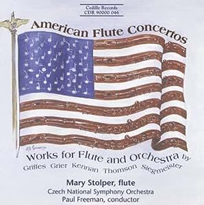 American Flute Concertos