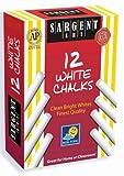 Sargent Art 66-2012 12-Count White Dustless Chalk