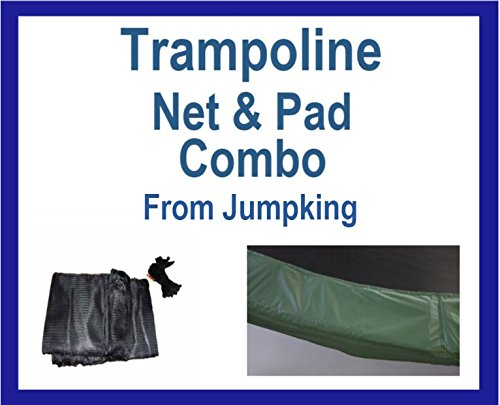 Net And Pad Combo For 14 Ft Round Frames With 8 Poles Or ...