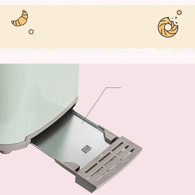 YSMGO Inicio Tostadora de múltiples Funciones de Desayuno Máquina Pequeño Horno Tostador automáticos a presión Tostador, A: Amazon.es