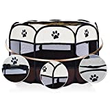 KTYX Folding Octagonal Pet Tent Pet Nest Small
