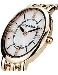 BETFEEDO Women's Watch Rose Gold Bracelet Watch for Women, Analog Quartz Watch, Fashion Dress Wrist Watch (Goldrose)