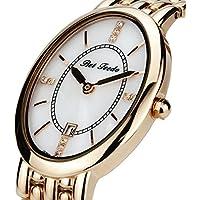 [Patrocinado] BETFEEDO, reloj pulsera oro rosa para mujer. Reloj analógico movimiento Quartz.