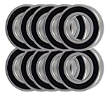10 Snowmobile Bearing 6004-2RS 20x42x12 Sealed Ball Bearings