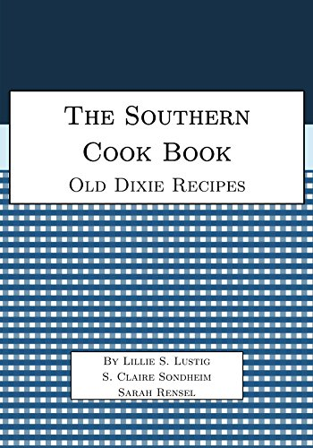 The Southern Cook Book by Lillie Lustig