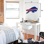 Buffalo Bills 36x36 Team Logo Repositionable Wall Decal