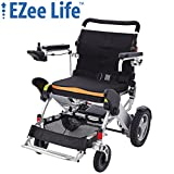 "Ezee Life - 3G DLX Heavy Duty Folding Electric Power Wheelchair - 12"" Rear Wheels"