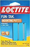 Loctite 1087306-12 Fun-Tak Mounting Putty, 2-Ounce Packets, Case of 12