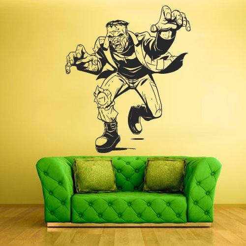 STICKERSFORLIFE Wall Vinyl Sticker Decals Decor Art Bedroom Design Mural Zomby Horror Halloween Frankenstein (Z1940)