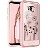Samsung Galaxy S8 Plus Case Clear BENTOBEN Shockproof Detachable Back Case for S8 Plus Rose Gold
