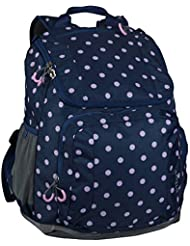 Embark Jartop 17.5 Recycled Content Future Tech Backpack (Navy Lavender Dot)