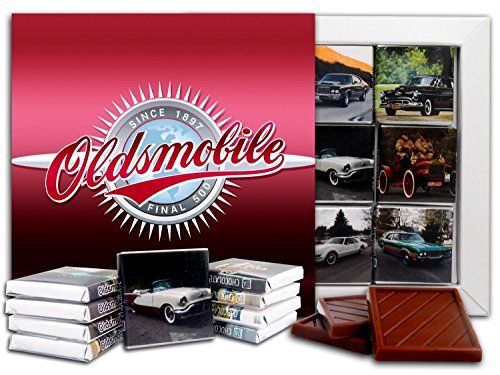 DA CHOCOLATE Candy Souvenir OLDSMOBILE Chocolate Gift Set 5x5in 1 box (Logo)