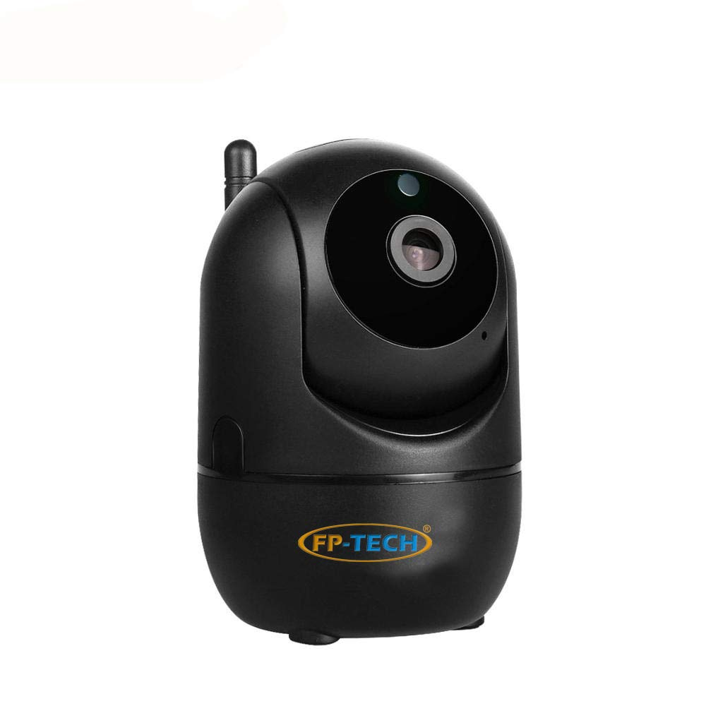 TELECAMERA VIDEOSORVEGLIANZA IP HD 1080P WIRELESS 2 MPX DA INTERNO ED ESTERNO CLOUD WIFI LED MOTORIZZATA 1080p Da Interno - Nera