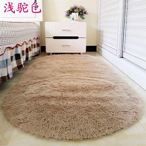 JFTYUYAW Long Hair Carpet Warm Sweet Bedroom Carpet for Living Room, Parlor, Hallway Soft Carpet, Romance Soft Rug Brown 600x1600mm