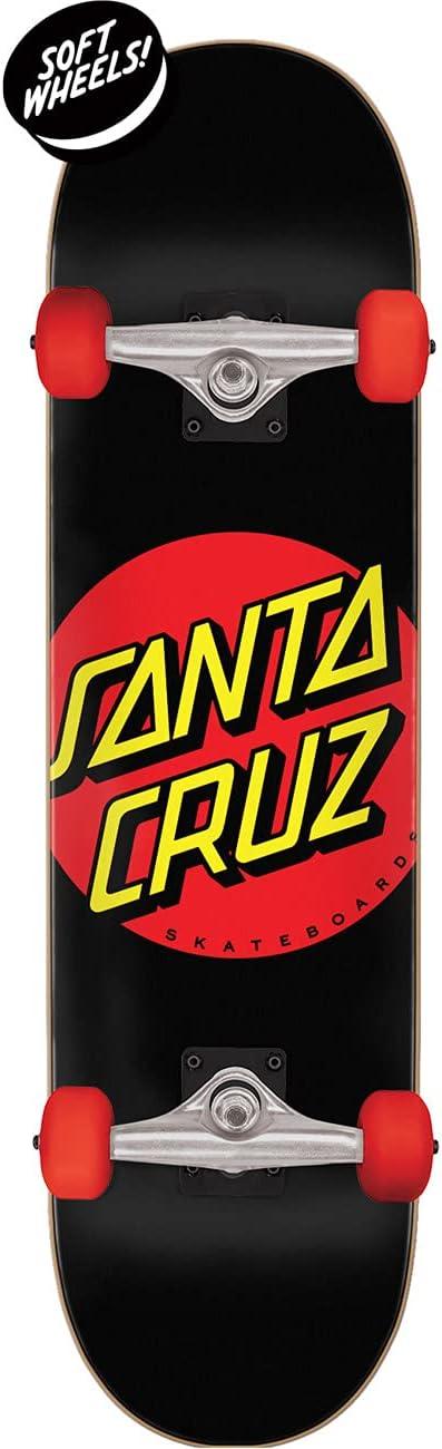 Santa Cruz Classic Dot Super Micro Sk8 Completes 7.25in x 27.00in