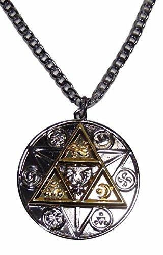The Legend Of Zelda Tri Force Natural Forces Pendant Necklace -