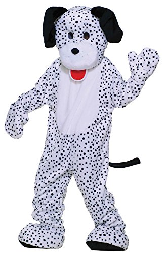 Forum Novelties UHC Dotty Dalmatian Mascot Funny Comical Theme Party Halloween Costume, -