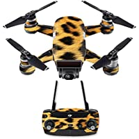 Skin for DJI Spark Mini Drone Combo - Cheetah| MightySkins Protective, Durable, and Unique Vinyl Decal wrap cover | Easy To Apply, Remove, and Change Styles | Made in the USA