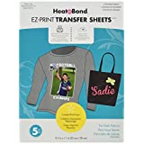 Thermoweb Heat'n Bond EZ Print Transfer Sheet, 8.5-Inch x 11-Inch