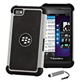 32nd Shock proof defender heavy duty tough case cover for Blackberry Z10 - Grey