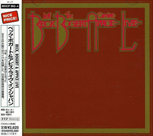 Beck, Bogert and Appice Live by Sony Japan