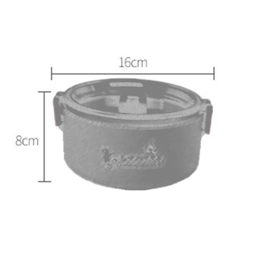 RQLM Lunchbox-Runden-bento Box BehäLter-Edelstahl-Brotdose FüR Schüler und und und Büroangestellte B07JF8D32V | Bekannt für seine schöne Qualität  678428