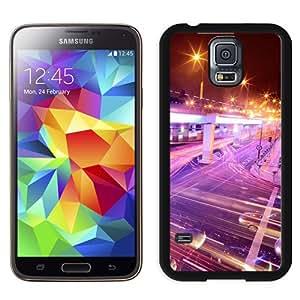 New Beautiful Custom Designed Cover Case For Samsung Galaxy S5 I9600 G900a G900v G900p G900t G900w With Night Lights Stream Phone Case