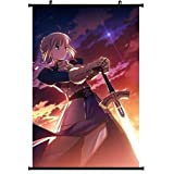 1 X Fate Zero Fate Stay Night Extra Anime Wall Scroll Poster (24''*35'') Support Customized