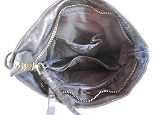 Viena Pickpocket De Negro Bolsa Hombro 7wqgtO