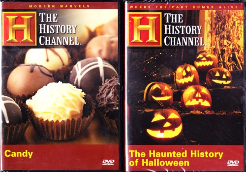 The History Channel : The Haunted History of Halloween , the History of Candy : Trick or Treat 2 Pack -