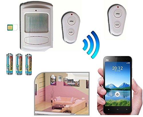 53 opinioni per Allarme Antifurto a Batteria con Combinatore Telefonico GSM / Telecomando /
