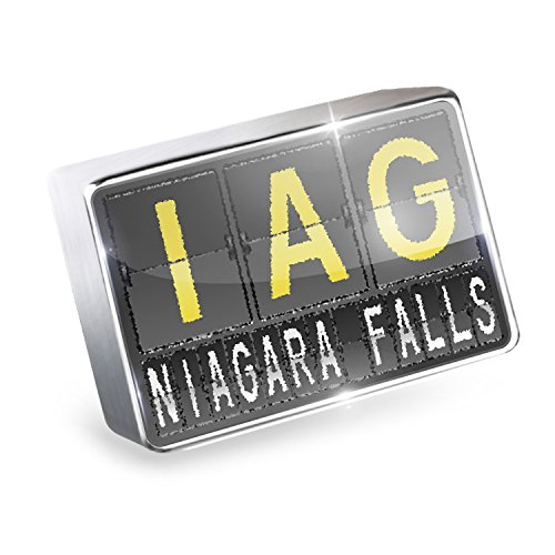 Floating Charm IAG Airport Code for Niagara Falls Fits Glass Lockets, - Niagara Glasses Falls