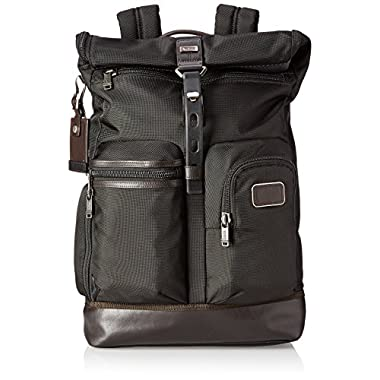 Tumi Alpha Bravo Luke Roll-Top Backpack, Hickory, One Size