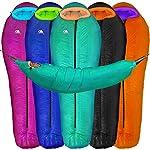 Hyke Byke Hammock UnderquiltDown Sleeping Bag 800 Fill Power 0 Degree F Goose Bag For Hammock Or Ground Camping And Backpacking Lightweight UnderTop Quilt Combo MintTangerine Regular
