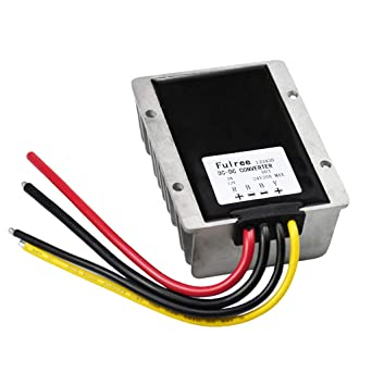 Almencla 12v Step Up 24v 20a Power Modul Spannungsregler Dc Dc Boost Converter 480w Gewerbe Industrie Wissenschaft