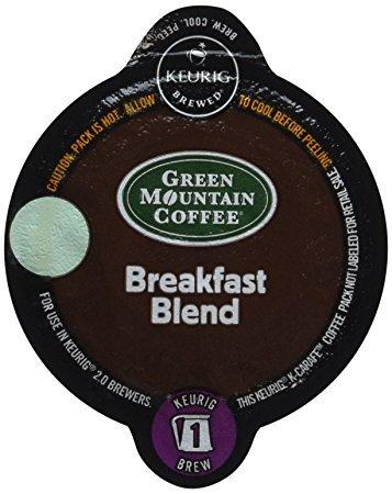 Keurig 2.0 Breakfast Blend Coffee , Light Roast , K-Carafe Packs (24) -