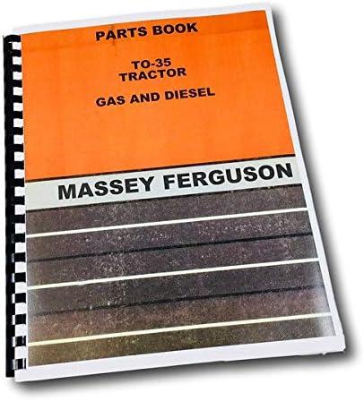 Amazon.com: Massey Ferguson To-35 - Libro de catálogo de ...