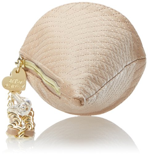 Betsey Johnson Ice Cream Cone Wristlet Clutch,Blush,One Size