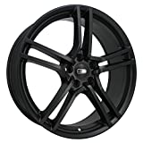 "HD Wheels Vento Satin Black Wheel (18x7.5""/5x114.3mm, +38mm offset)"