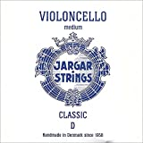 Jargar 4/4 Cello D String Medium Chromesteel