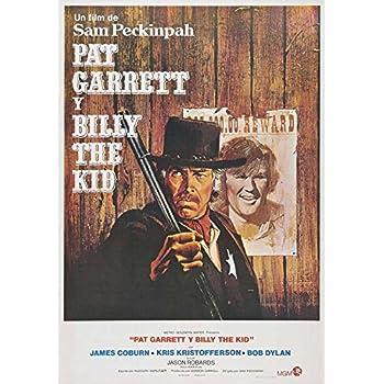 Pat Garrett And Billy The Kid Movie Poster #01 24x36