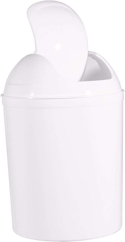 Poubelle de salle de bain 5 l /à couvercle basculant