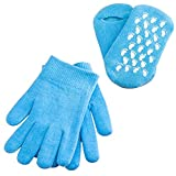 Gel Moisturizing Spa Gloves and Socks,Hands Feet Skin Whitening Care Beauty Spa Treatment for Man and Women in Dry Skin Hands and Feet Overnight Use