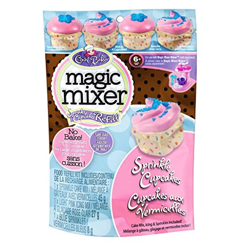 Price comparison product image Cool Baker Magic Mixer Refill Kit - Sprinkle Cupcakes