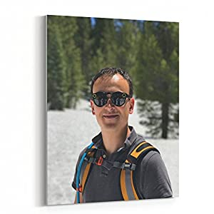 Westlake Art - Snow Snapchat - 16x20 Canvas Print Wall Art - Canvas Stretched Gallery Wrap Modern Picture Photography Artwork - Ready to Hang 16x20 Inch (5CF9-5EFAD)
